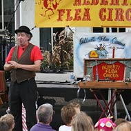 Mr. Alberti and his Flea Circus